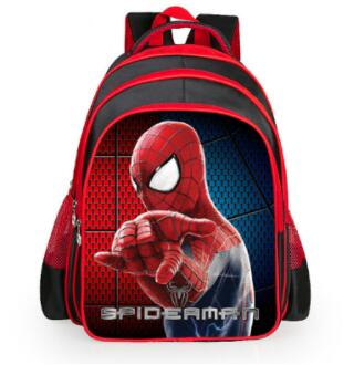 New Brand Children Spiderman School Bags New Cartoon Spider Man Printing Schoolbags Kids Backpack For Boys Mochila Infantil