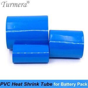 Термоусадочная трубка для батареи, ПВХ термоусадочная трубка от 35 мм до 210 мм для 18650 26650 32700, литиевый аккумулятор на заказ, Turmera