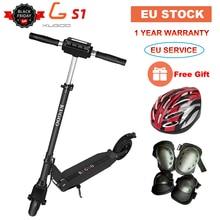 [Европейский запас] KUGOO S1 складной электрический скутер для взрослых 350 Вт 30 км/ч 30 км/ч диапазон ЖК-дисплей 8,5 дюймов e скутер для XIAOMI M365