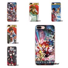 Cho Iphone XS Max XR X 4 4S 5 5S 5C SE 6 6S 7 8 Plus samsung Galaxy J1 J3 J5 J7 A3 A5 Ốp Silicone Ốp Lưng Macross 7 Encore Anime(China)