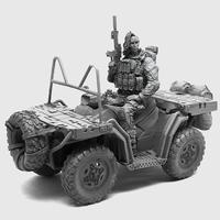 1/35 Resin Soldier Model Terrain Vehicle US Military Seal Commando Assembly Resin Model Kit MOO 07 MOO 08 MOO 09 MOO 10