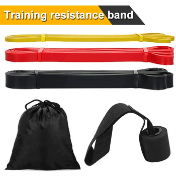 Elastic Fitness Exercise Bands Resistance Band for Workout Expander Strength Training Gym Yoga Pilates Door Anchor exercise fitness yoga resistance bands expander equipment fitness gym strength training loop band yoga pilates physical therapy