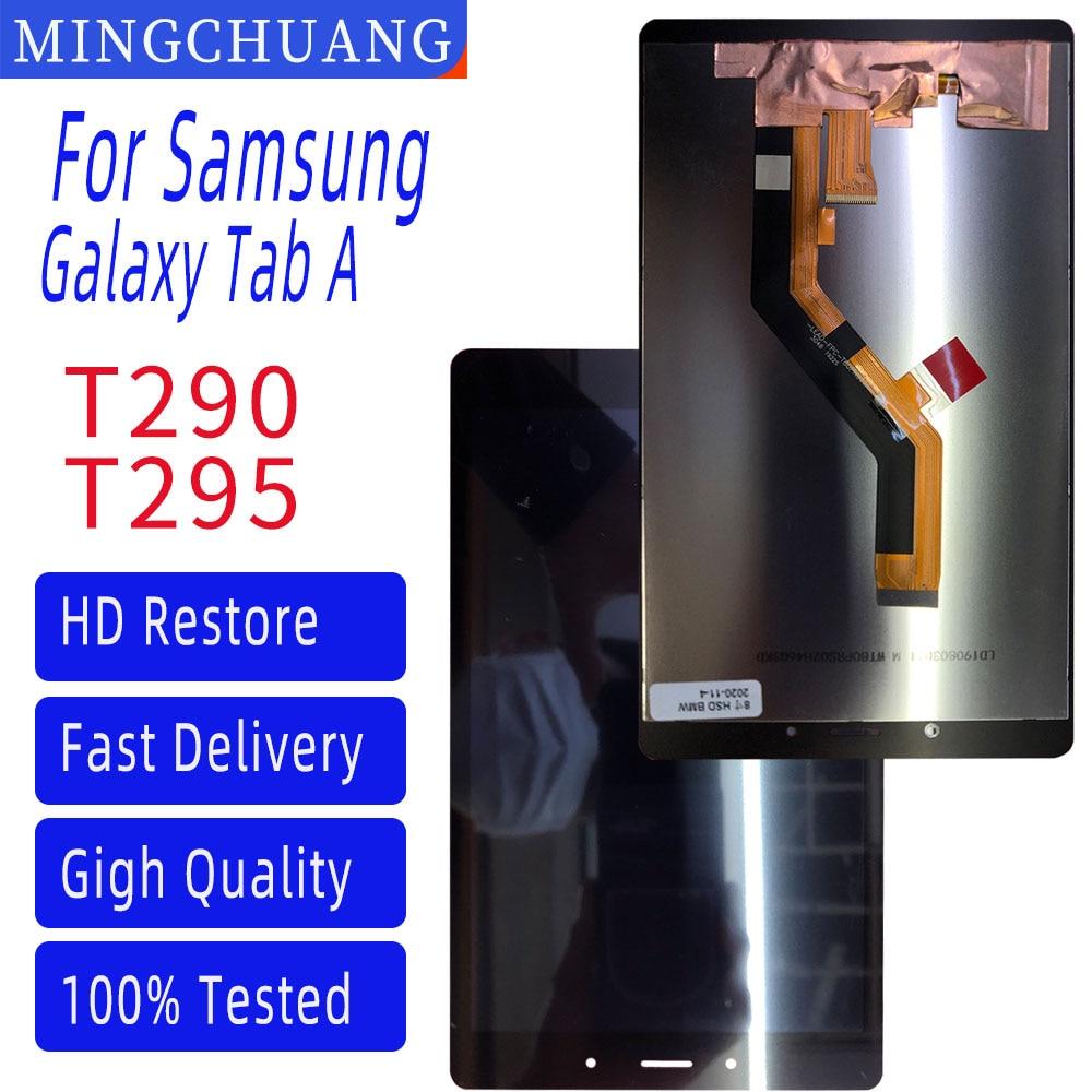 8 polegada para samsung galaxy tab um 8.0 2019 SM-T290 SM-T295 t290 t295 lcd touch screen digitador assembléia peças de reposição