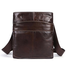 цена на Hot Sale Genuine Leather Men Bag Messenger s Casual 'S Shoulder  Crossbody For  Designer Handbag High Quality