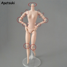 Nude Dollhouse Without-Head Rotatable Diy-Body 1:6-Dolls-Accessories 1pc for Jointed