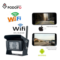 WIFI Reversing Camera Dash Cam 28 LED IR Night Vision Car Rear View Camera Waterproof Vehicle Cameras for iPhone and Android