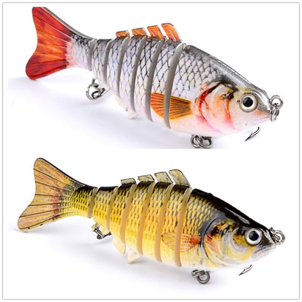 1 шт. рыболовные приманки, наживки многосекционные жесткие приманки 100mm15g искусственная приманка Минноу Crankbait джиг окунь Карп рыболовные снасти|Наживки|   | АлиЭкспресс - Всё для рыбалки