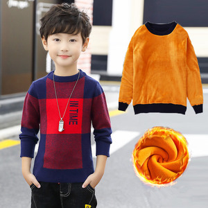 Image 4 - 2020 Fashion Boys Sweater Spring Winter Infant Boy Outerwear Cotton Sweater Kids Sweater Children Knitwear Sweater Brand Tops