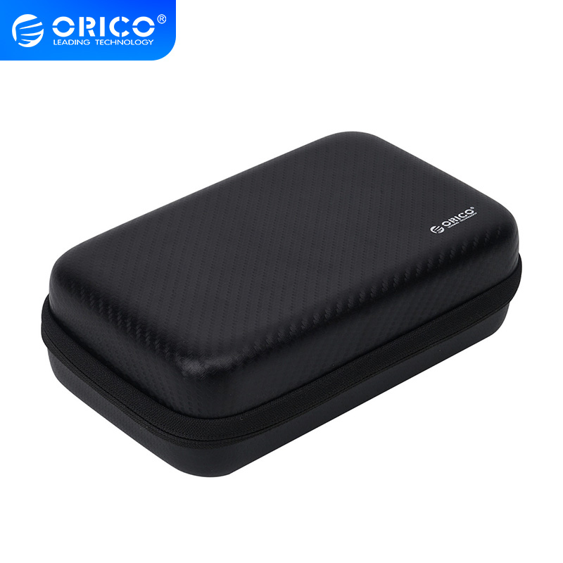 ORICO Hard Drive Case Protector Bag Portable Anti-press Digital Accessory Storage Box For HDD Power Bank USB Cable Charger Card