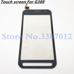 Digitizer panel dotykowy do Samsung Galaxy Xcover 3 G388F XCover3 G388 SM-G388F ekran dotykowy wyświetlacz LCD czujnik przednia szklana pokrywa