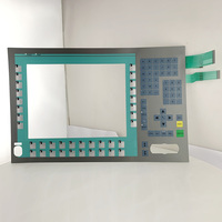 Comparar 6AV7 801 0AA00 1AC0 PC677 12 teclado de membrana para reparación de Panel SIMATIC HMI do