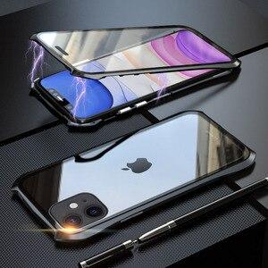 Image 5 - מקורי Luphie 360 מלא מגנטי מקרה עבור iPhone 11 פרו מקסימום 9 שעתי מזג זכוכית נייד טלפון כיסוי עבור iPhone 11 מקרי פרו