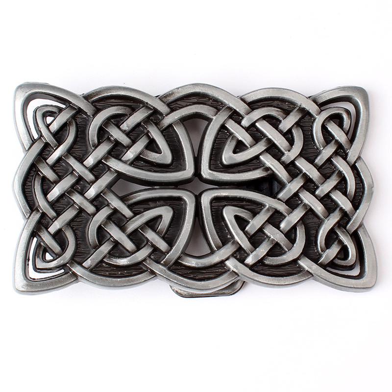 Chinese Knot Belt Buckle Fashion Personality Buckle Belt DIY Components