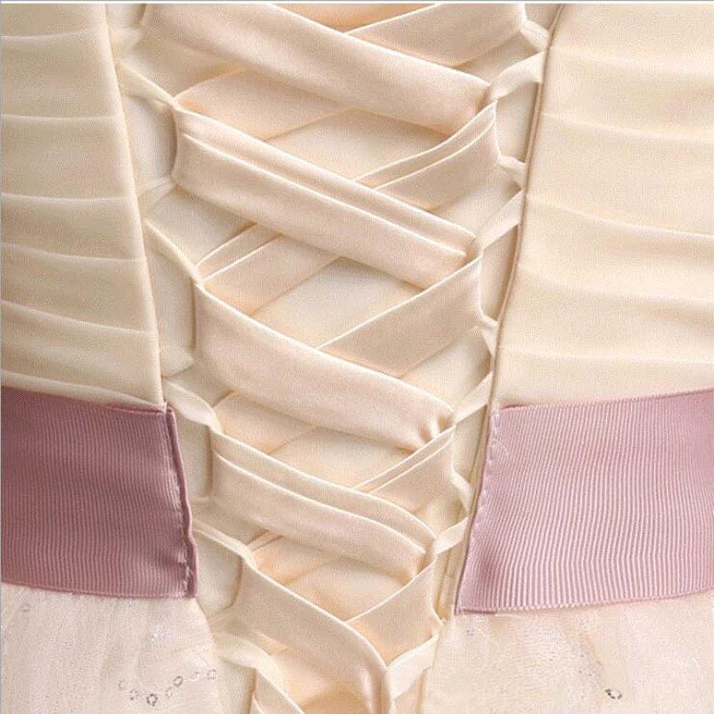 חתונת שמלת רצועות נשף מסיבת שמלת תחבושת שושבינה שמלות לקשור לעטוף המחייבת להקת סיטונאי
