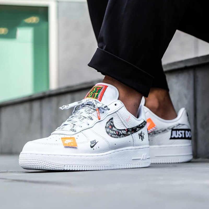 Nike Air Force 1 '07 po prostu zrób to AF1 New Arrival oddychające narzędzie męskie buty na deskorolkę niskie wygodne adidasy # AR7719-100