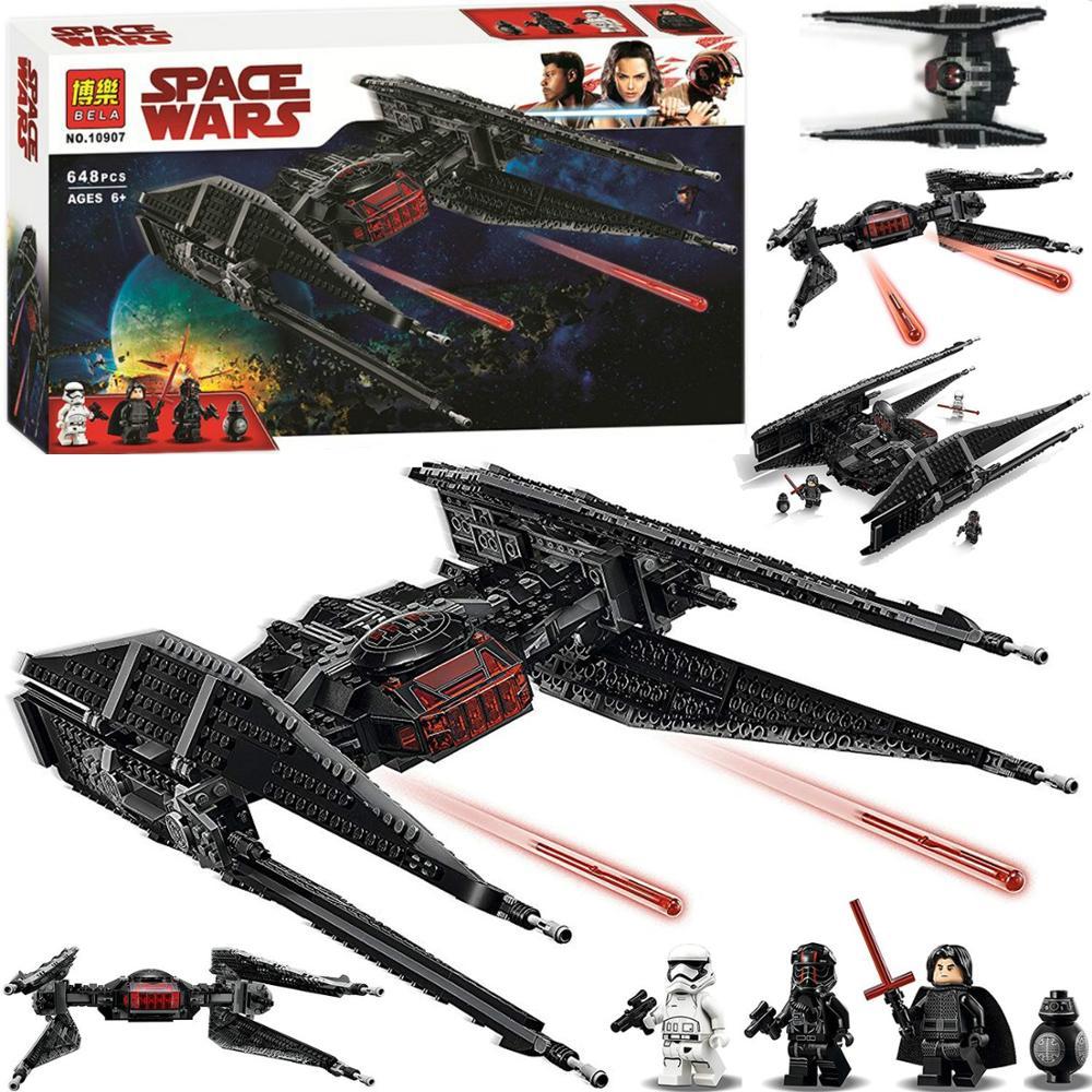 nouveau-star-wars-kylo-jouets-tie-fighter-ensemble-modele-blocs-de-construction-briques-compatibles-avec-lepining-75179-75187-75189-75102-font-b-starwars-b-font