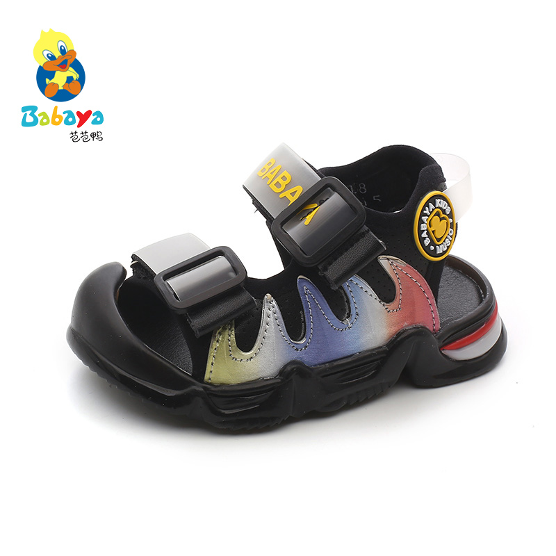 Babaya Baby Sandals Boys Shoes Girls Children Sandals 1-3 Years Old Summer Breathable 2020 New Toddler Beach Shoes