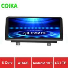 "COIKA 8 çekirdek İşlemci 10.25 ""Android 10.0 sistemi için BMW F20 F21 F22 F23 GPS Navi radyo WIFI SWC BT müzik IPS dokunmatik ekran 4 + 64G RAM"
