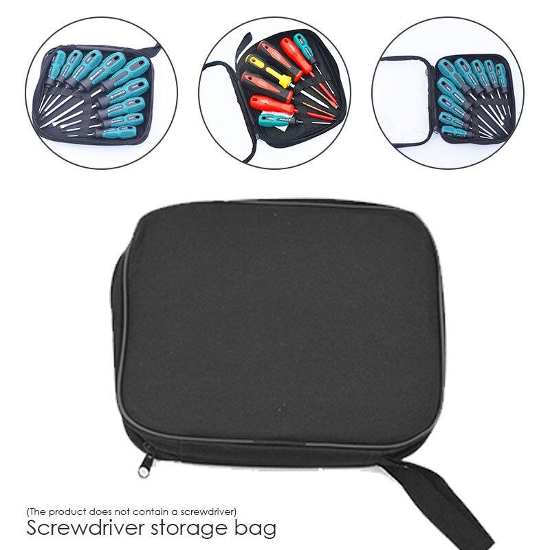Durable Toolkit Handbag Black Portable Repair Kits Multifunction Utility Bag Practical Hardware Hydropower Tools Bag Waterproof
