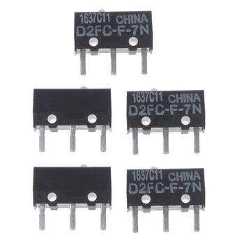 5Pcs Original Micro Switch D2FC-F-7N White Dot Mouse Micro Switch цена 2017