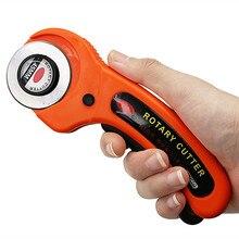 45/28mm retalhos rolo roda faca de corte pano couro tecido artesanato tecidos cortador rotativo diy acessórios costura