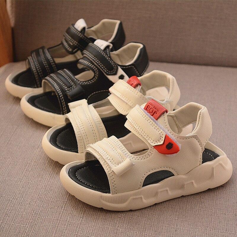 Unisex Babies Leather Sandals