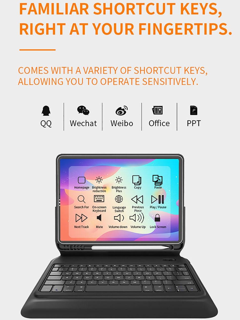 Wiwu Smart Keyboard Folio for iPad 8