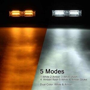 Image 3 - 12V 24V Offroad LED Light Bar Spot Flood Combo LED Work Light 5 Modes for Tractor Trailer Boat Off Road 4WD 4x4 Truck SUV ATV