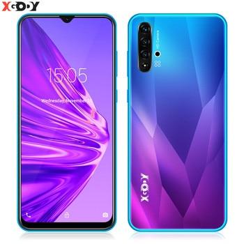 "XGODY 3G Smartphone 6.5 ""19:9 Android 9.0 1GB RAM 8GB ROM MP Camera Quad Core Cell Phone Unlock Dual SIM WiFi Mobile Phones"
