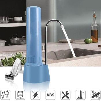 Water Purifier Ceramic Filter Faucet Water Filter Purifier Filtered Water Dispenser For Home Kitchen Tap Bathroom Sink Drinking