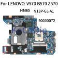 KoCoQin материнская плата для ноутбука LENOVO V570 B570 Z570 HM65 N13P-GL-A1 материнская плата 90000072 10290-4