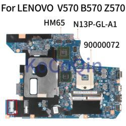 KoCoQin Laptop płyta główna dla lenovo V570 B570 Z570 HM65 N13P GL A1 płyty głównej płyta główna 90000072 10290 4|Płyty główne do laptopów|Komputer i biuro -