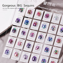 Nails Glitter Mixed Hexagon Sequins Champagne Laser Sliver Nail Art Flakes Paillette Manicure Decoration Design Nail Tool