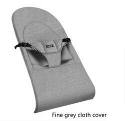 Cadeira de balanço do bebê sonolento bebê artefato conforto cadeira do bebê pode sentar e colocar capa de pano de reposição criança berço do bebê capa de cama