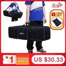 Meking 105cm/43in trépied sac photographie équipement pour supports de lumière parapluies trépied Studio Gear étui de transport étanche