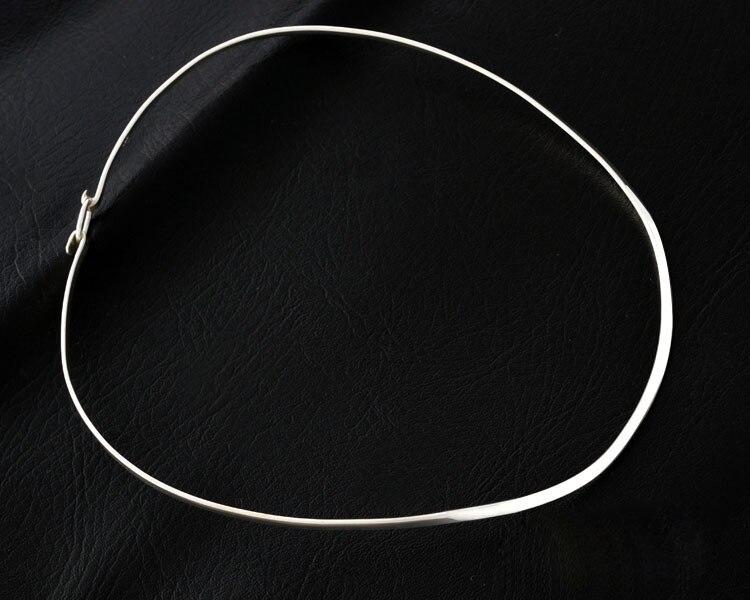 Sa silverage s925 prata colar feminino prata