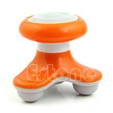 New Mini Electric Handled Wave Vibrating Massager USB Battery Full Body Massage H55D