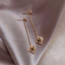 baroque simple chain earings  jewelry  drop  long korean bohemian earrings  indian jewelry vintage  women earrings цена