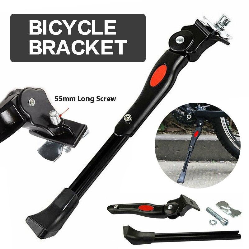 Alloy rower mtb Bike Kickstand stojaki parkingowe rower nogi podporowa podpórka boczna nadaje się do rowerów o średnicy 24
