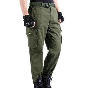 Image 5 - Spodnie robocze męskie naprawa samochodów zabezpieczenie w pracy spawanie fabryka odzież robocza spodnie bawełniane odzież ochronna spodnie