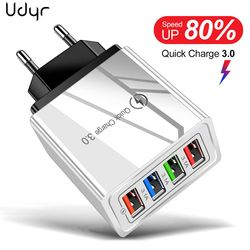 Eu/Us Plug Usb Charger Quick Charge 3.0 Voor Telefoon Adapter Voor Huawei Mate 30 Tablet Draagbare Muur Mobiele charger Fast Charger