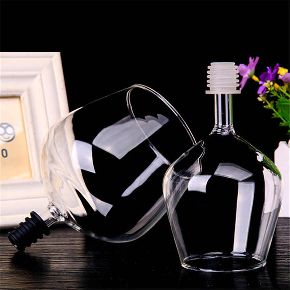 Christmas Large Funny Crystal Stemless Wine Glass Bottle Decoration Charms Marker Beer Drinking For Bar Tools Drinkware Supplies