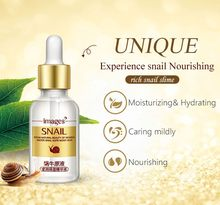 Hyaluronic Acid Snail Pure Extract Serum Anti-Aging Hydrating Moisturizers Cream Whitening Treatment Skin Face Care 15ml massage(China)