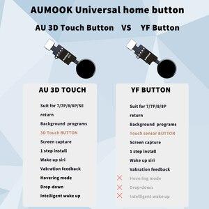 Image 2 - 10pcs 6th Generation 3D Touch Universal Home Button For iPhone 7 7 plus 8 8 plus SE 2020 flex cable Restore return function