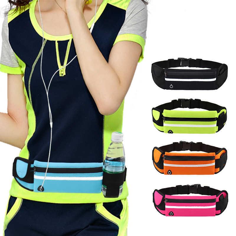 Yuyu saco da cintura cinto correndo saco da cintura esportes saco de ginásio portátil segurar água ciclismo saco do telefone à prova dwaterproof água mulheres correndo cinto