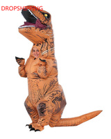 Inflatable Dinosaur Costume Fan Operated Trex Costume Cosplay Adult Haloween Animal Costumes for Men Women Dino Rider T Rex
