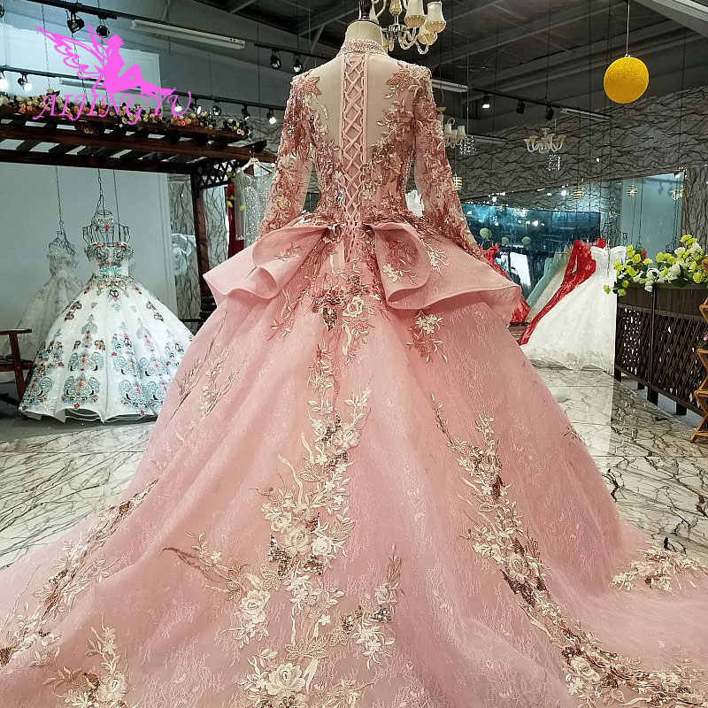 Aijingyu Wholesale Wedding Dresses Factory With Lace Sleeves Simple Best Bridals Petite White Corset Gown Wedding Dress America Aliexpress,Bride Wedding Reception Dress Best Bridal Reception Dresses