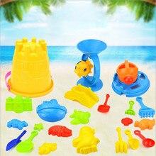 1 комплект лето пляж песок играть вода игрушки дети приморских ковша лопата грабли комплект играть игрушки дети инструменты дноуглубительных с модели на животных
