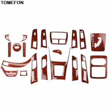 TOMEFON For Subaru Forester 2008 09 10 11 2012 ABS Special Color Glasses Armrest Doors Handle Gear Cup Center Sonsole Trim Frame image