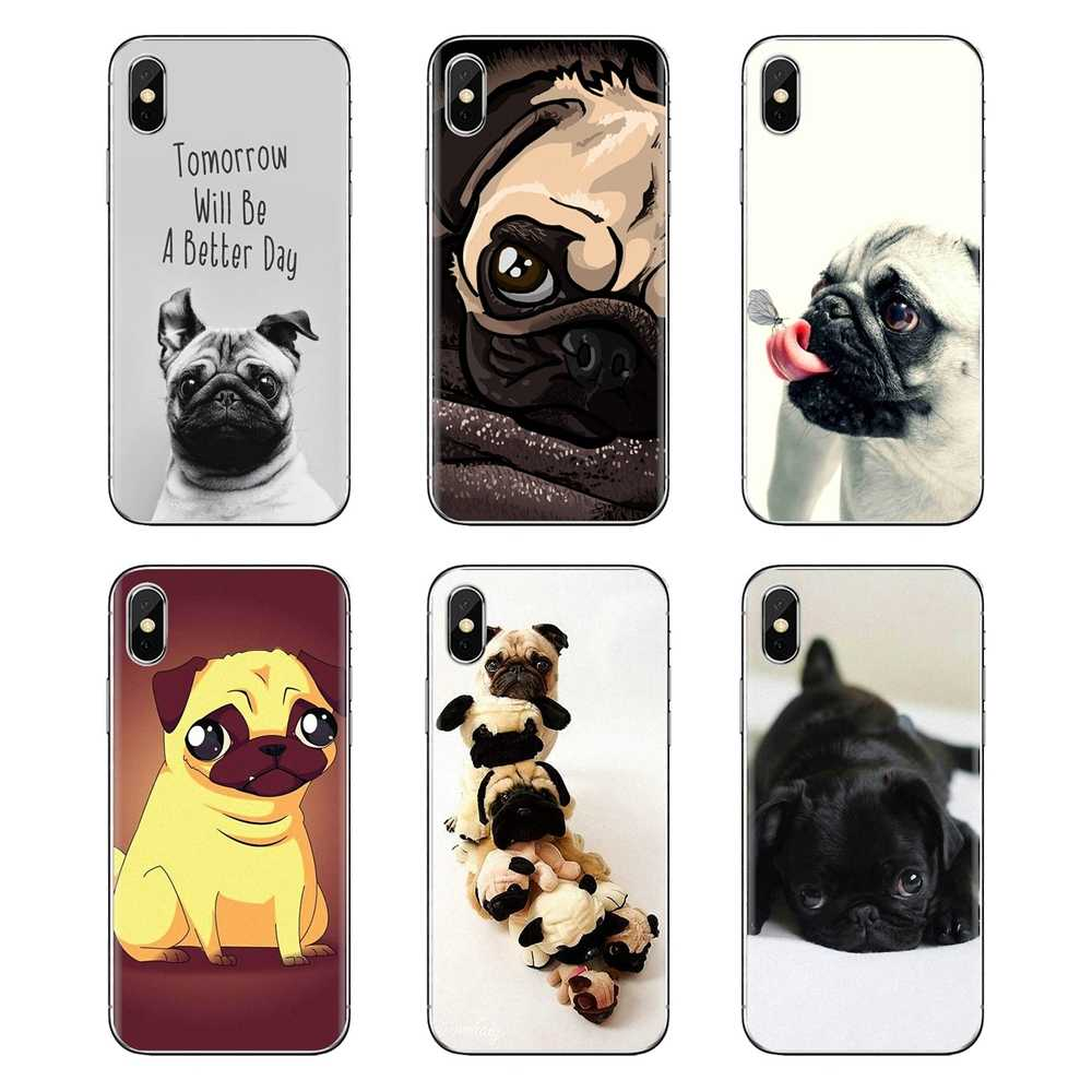 Silicone Telefoon Case Voor Xiaomi Mi3 Samsung A10 A30 A40 A50 A60 A70 Galaxy S2 Note 2 Grand Core Prime westie Pug Hond Puppy dier